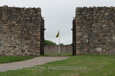 Fort Frederick Main Gate.