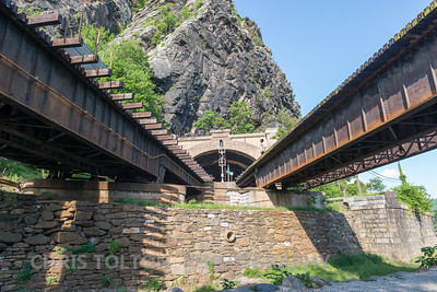 Harpers Ferry Train Tunnel and Bridge
