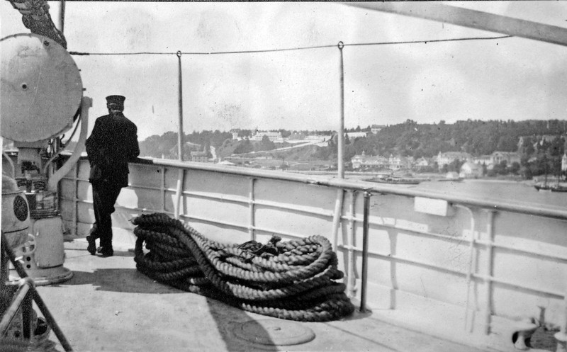 Photo by Francis & Jamie on Board SS Northland at Macinac Island 1916