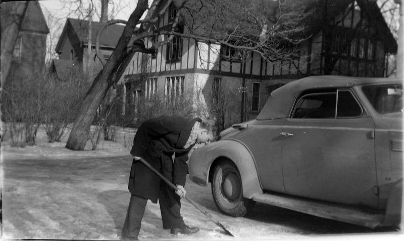 #46 Charles Stebbins - Snow Shoveling