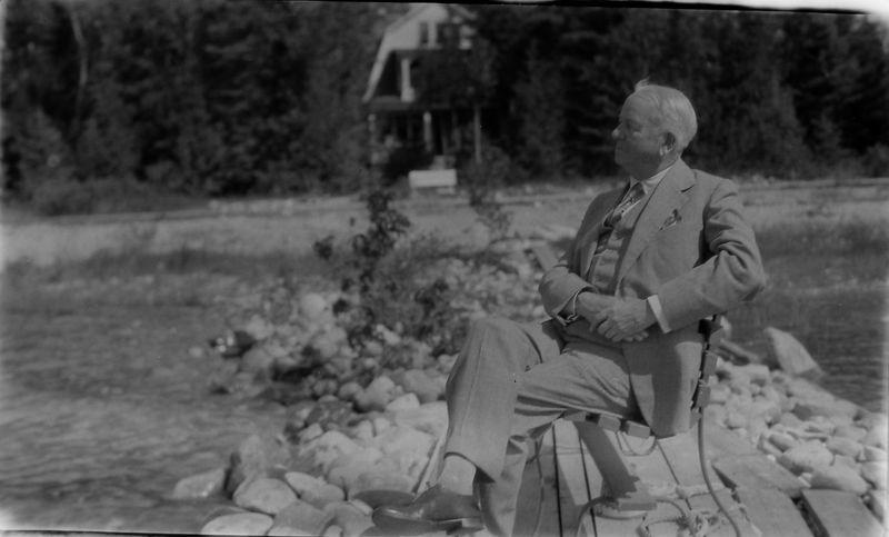 #1 ACStebbins at Roaring Brook - 1939