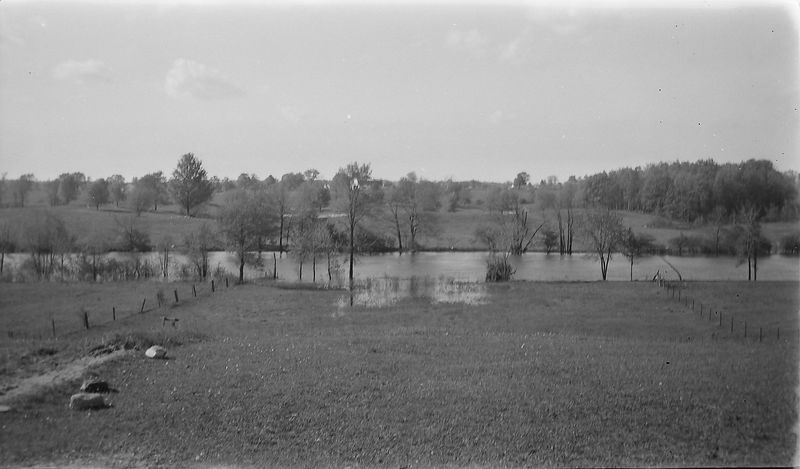 #22 Our Front Yard - Grand River from Eaton Shores (end of Jolly rd) May'45