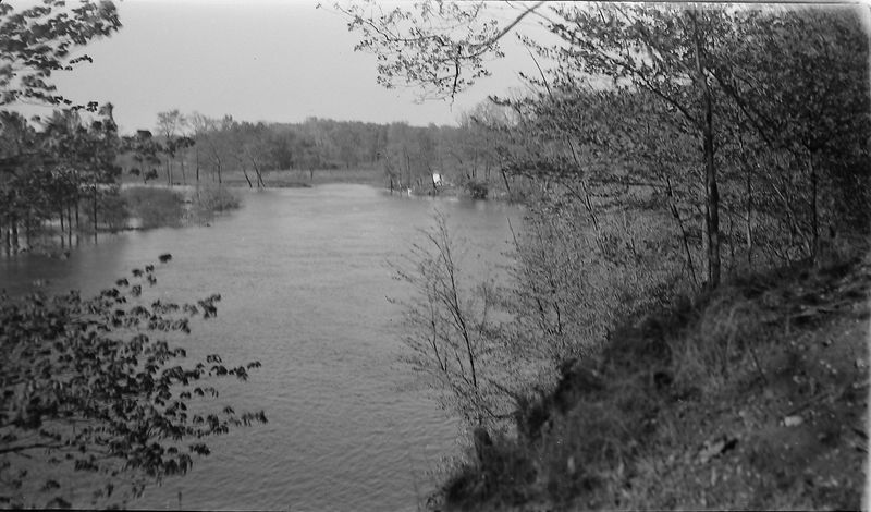 #19 Grand River from Eaton Shores (end of Jolly rd) May'45