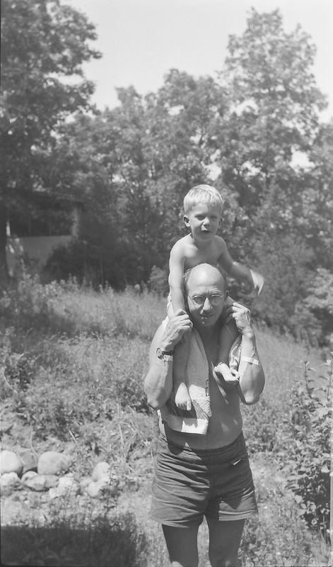 #57 Winston & Rowland Stebbins (maybe Halfmoon lake) June'45