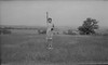 #4 Virginia Stebbins atop Charles Mound Ill July'47