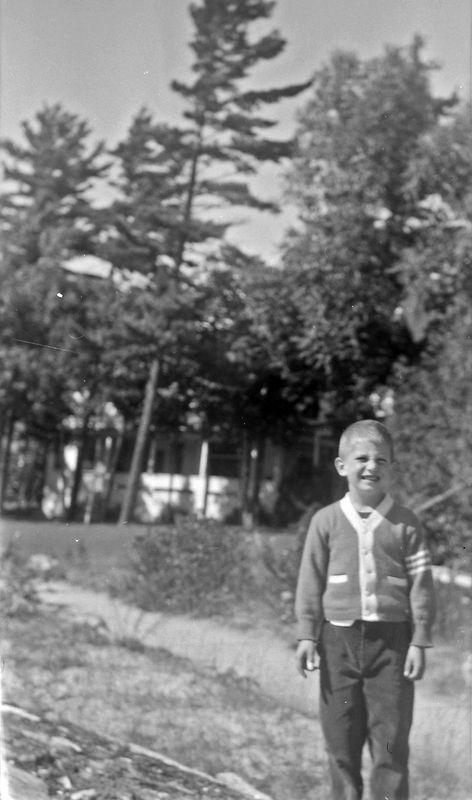 #248 Malcolm Stebbins at Roaring Brook Sept'51
