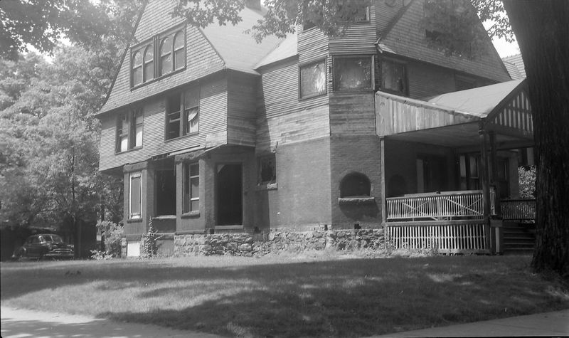 #210 101 North Walnut (Hooker House maybe) Lansing June'51