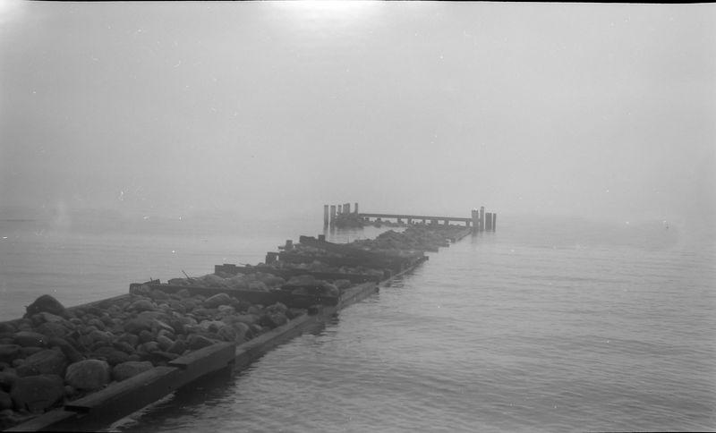 #255 Roaring Brook dock storm damage Fall'51
