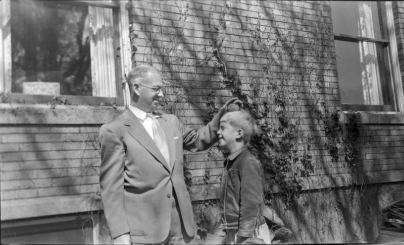 #77 George & Winston Stebbins at 1710 MRD 18 May'52