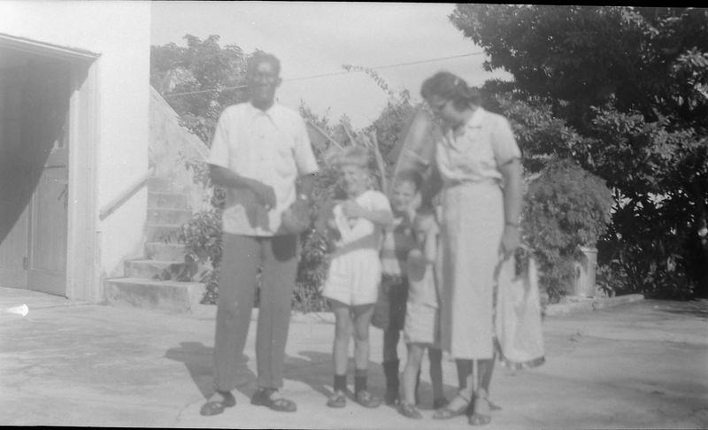 #13 Robert Simmons-VIrginia-Winston-Malcolm-Kenyon Stebbins 915 Castile Coral Gables Fl Jan'52