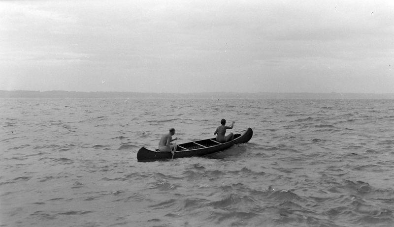 #103 Rowland & Marilyn Stebbins Photo by George Roaring Brook 1 Aug'52