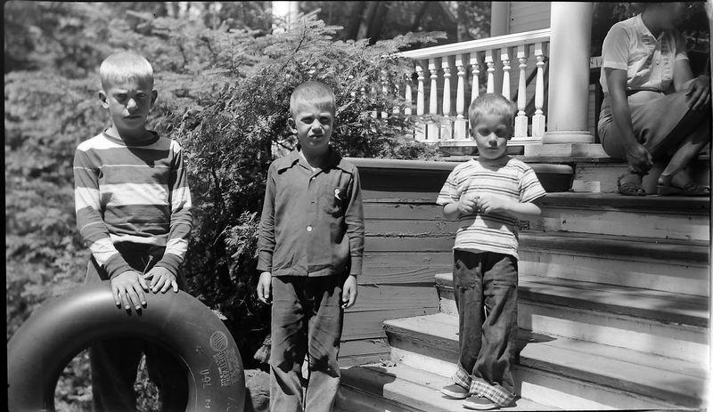 #99 Virginia-Winston-Kenyon-Malcolm Stebbins at Roaring Brook Mi Summer July'52