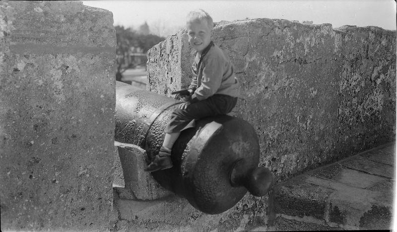 #183 Kenyon Stebbins Castillo de San Marcos fort Fl 28 Feb'53