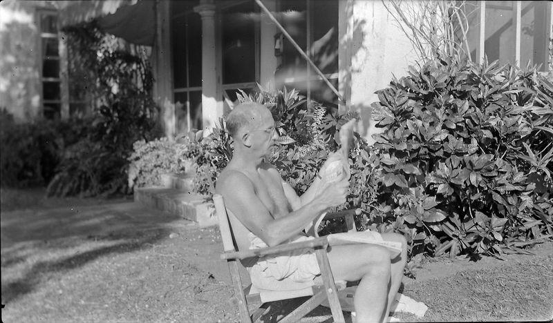 #142 C Rowland Stebbins at 915 Castile Coral Gables Feb'53
