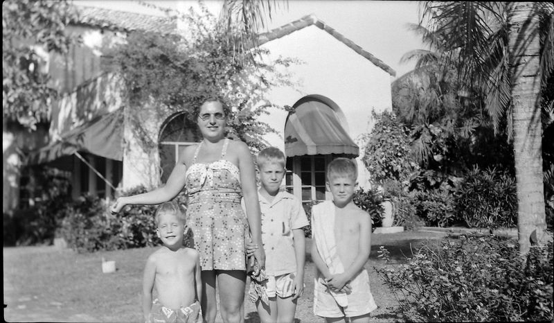 #137 Virginia & Winston-Kenyon-Malcolm Stebbins 915 Castile Coral GablesFl Feb'53