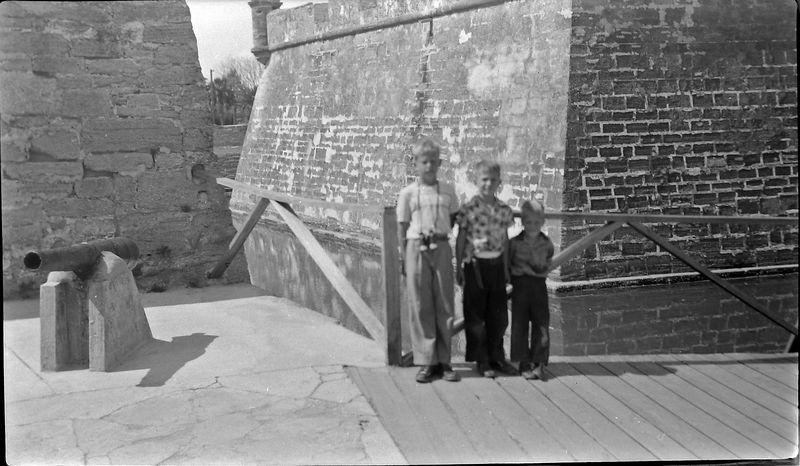 #180 Win-Mal-Ken Fort Marion St Augustine Fl 28 Feb'53