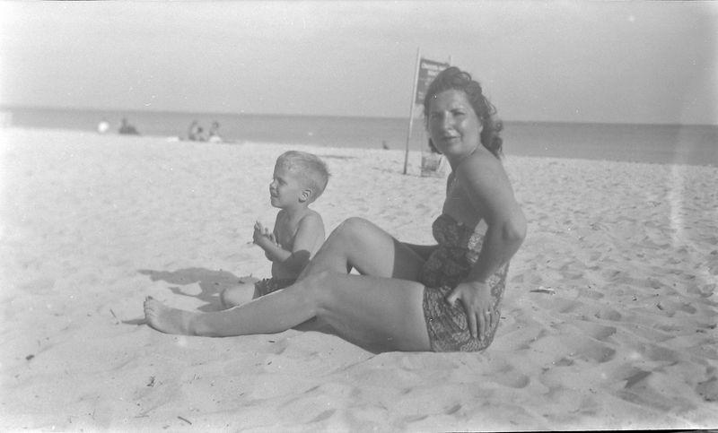#28 Virginia & Kenyon Stebbins Coral Gables Fl Jan'52