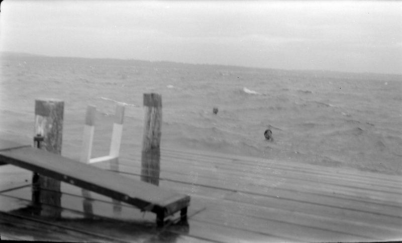 #103 Rowland & Marilyn Stebbins Photo by George Roaring Brook Dock 1 Aug'52