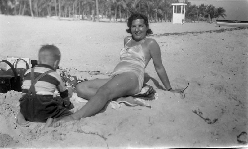 #23 Virginia & Kenyon Stebbins Coral Gables Fl Jan'52
