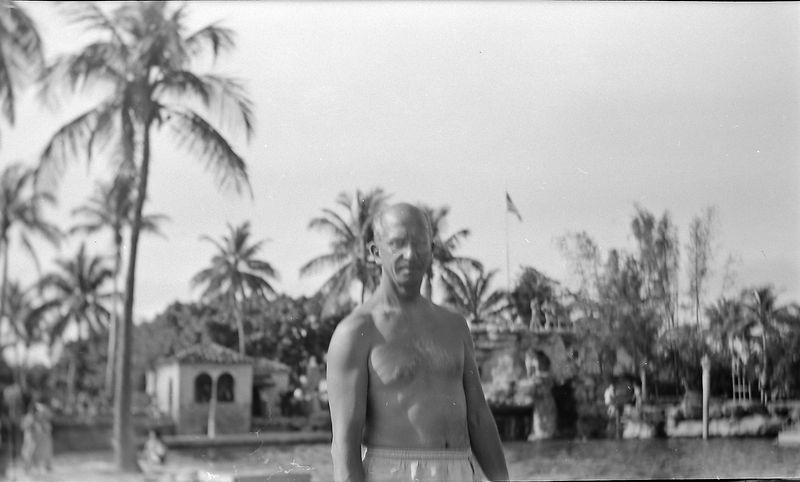 #54 Rowland Stebbins Venetian Pool Coral Gables Fl 8 Feb'52