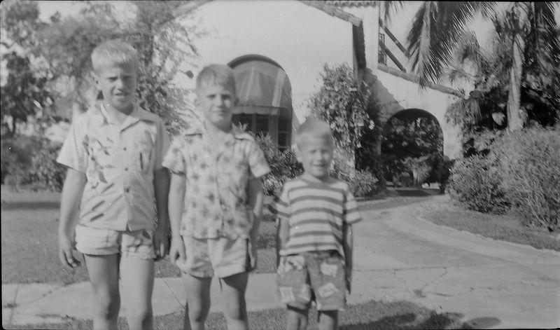 #164 Winston-Malcolm-Kenyon Stebbins 915 Castile Coral Gables Fl Feb'53
