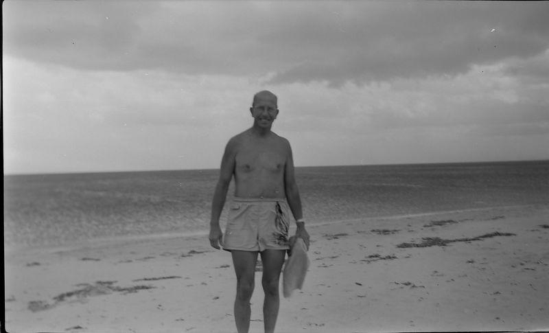 #37 Rowland Stebbins at Crandon Park Fl 6 Feb'52