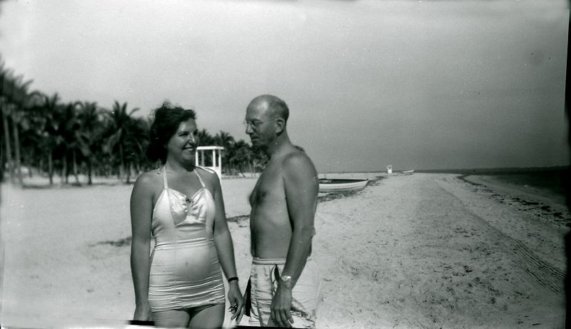 #17 VIrginia (Buckles) & Rowland Stebbins Coral Gables Fl Jan'52