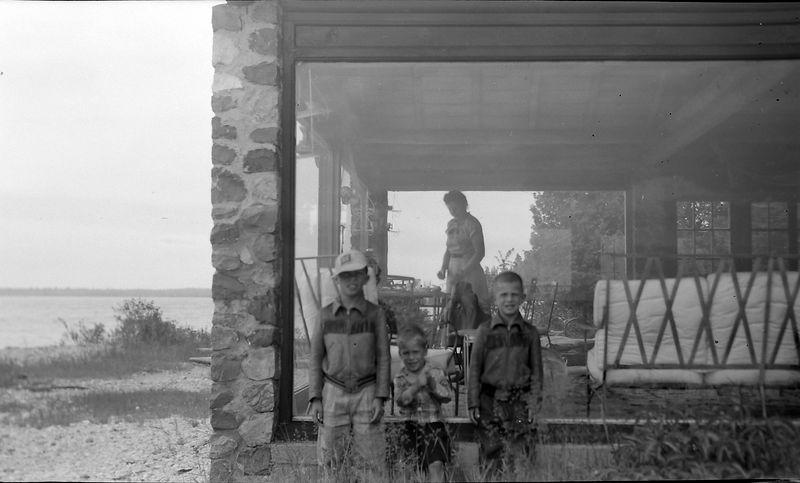 #94 Virginia-Winston-Kenyon-Malcolm Stebbins at Presque Isle Mi 3 July'52