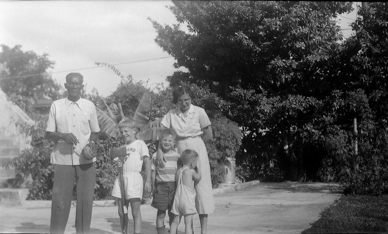 #11 Robert Simmons-VIrginia-Winston-Malcolm-Kenyon Stebbins 915 Castile Coral Gables Fl Jan'52