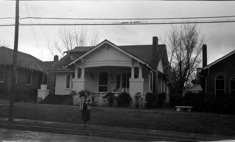 #63 VIrginia Stebbins at Napier Ave Macon Georga 13 Feb'52