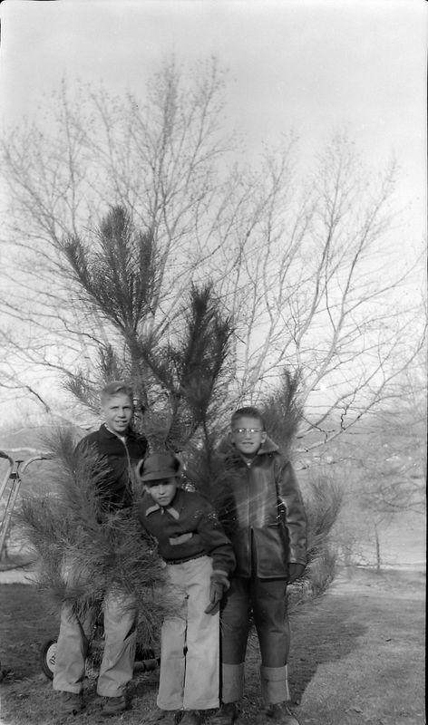 #154 1955 Christmas Tree Winston-Kenyon-Malcolm Stebbins 1710 MRD Feb'56
