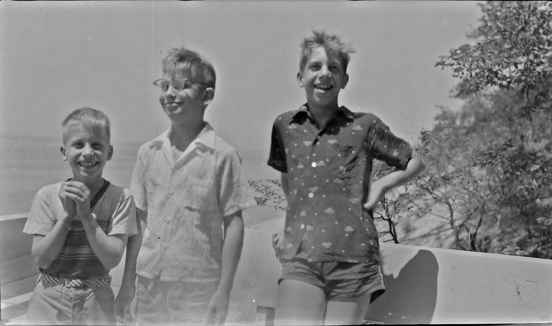 #172 Kenyon-Malcolm-Winston Stebbins at Eagle Crest 10 June'56