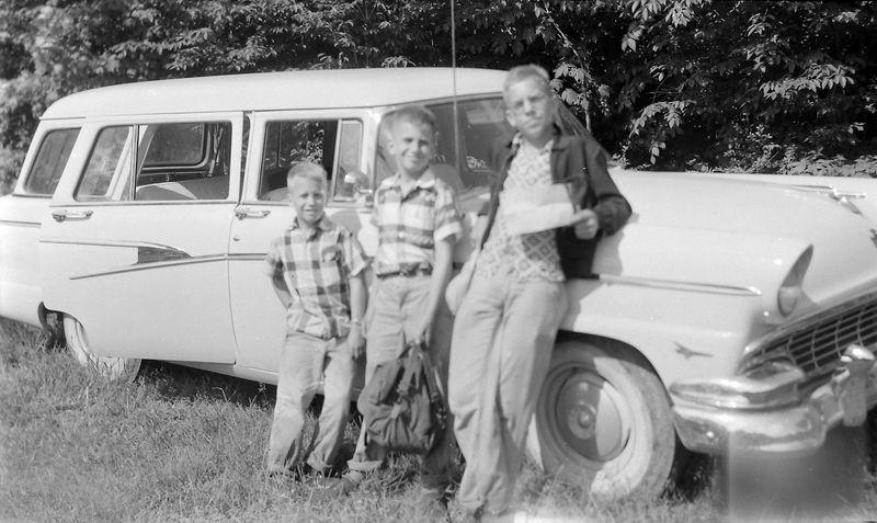 #193 Kenyon-Malcolm-Winston Stebbins start up Mt Rogers 26 June'56