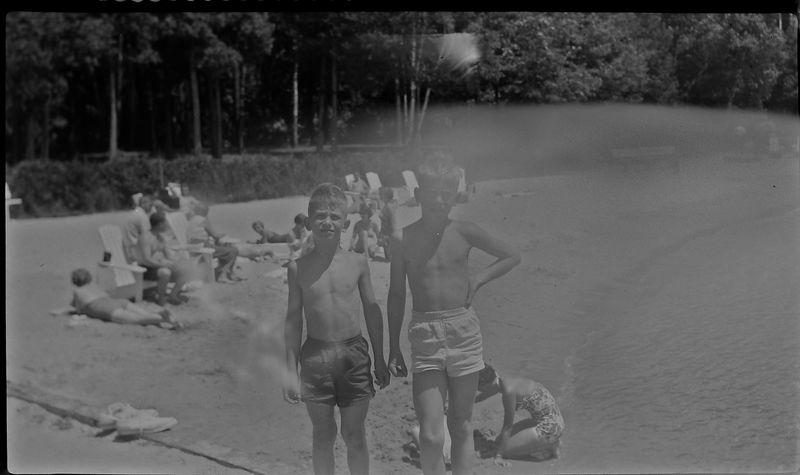 #22 Malcolm&Winston Stebbins Roaring Brook Dock July'54