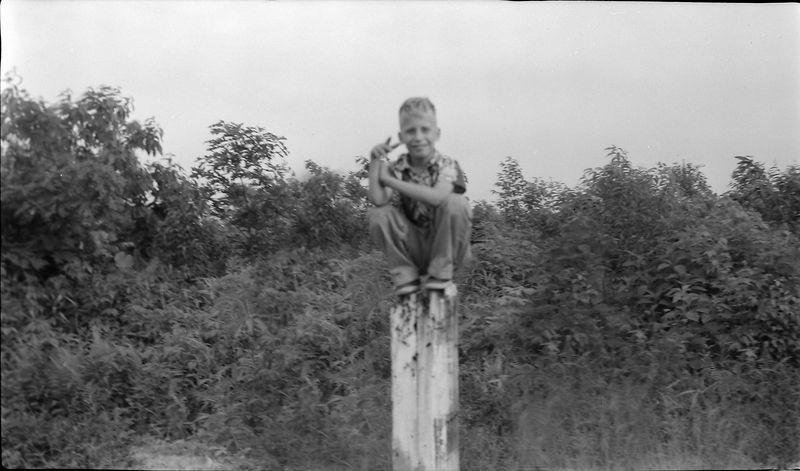 #187a Kenyon Stebbins Big Black Mt Kentucky highpoint 24 June'56