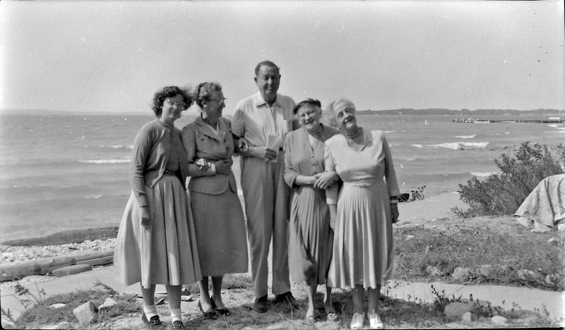 #112 Stowell & Marie Stebbins et al Summer'55