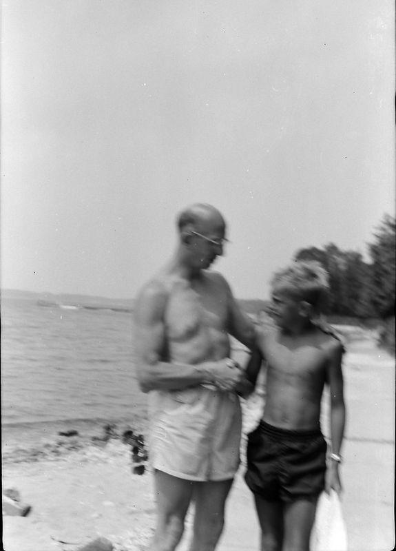 #109 Rowland & Winston Stebbins Roaring Brook 17 July'55