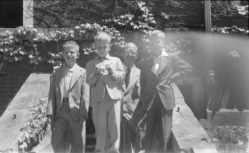 #15 Kenyon-Malcolm-Rowland-Winston Stebbins 109 N Walnut June'54