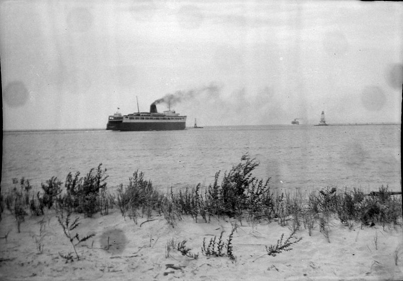 #91 Car Ferry Lv Ludington 11 July'54