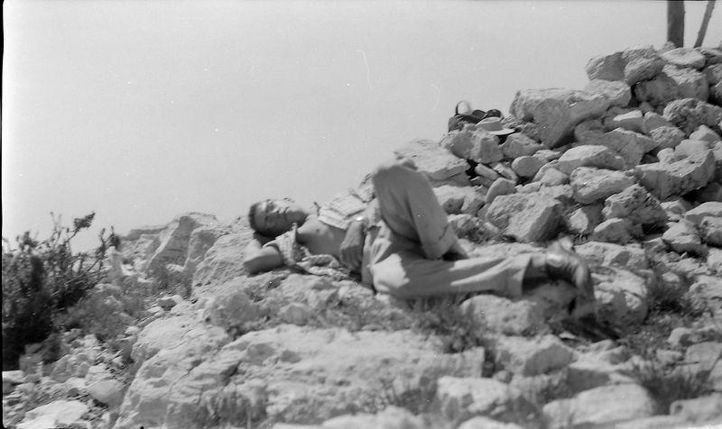 #240 Malcolm Stebbins atop Guadalupe Peak TX 25 June'58