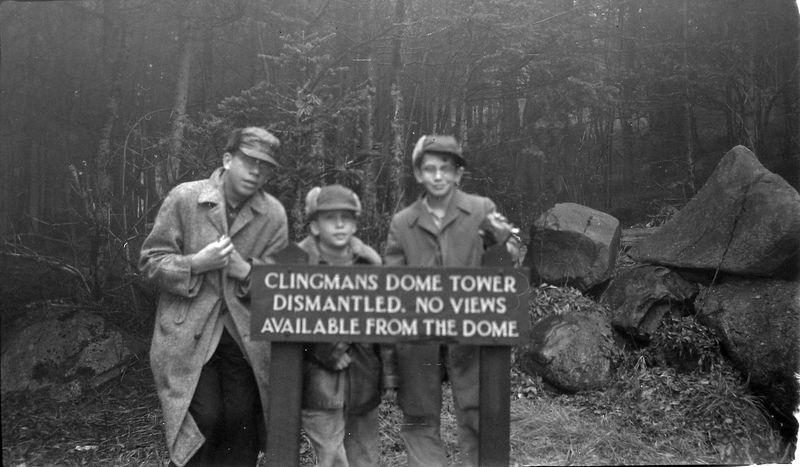 #30 Kenyon Stebbins trail to Clingman's Dome Tenn 20-Dec'56