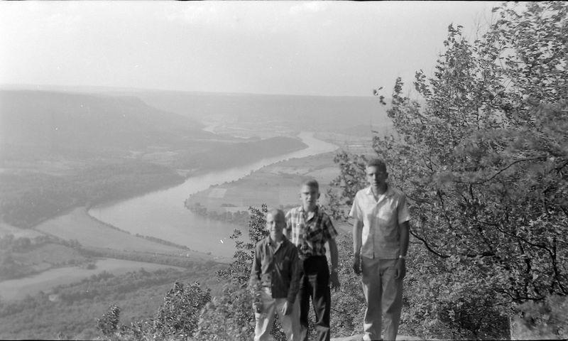 #196 WInston-Malcolm-Kenyon Stebbins Lookout Mt 18 June'58