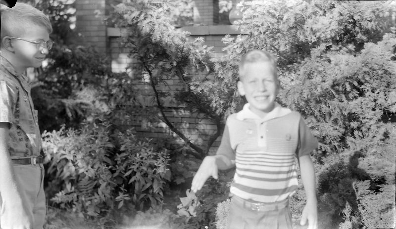 #7 Malcolm & Kenyon Stebbins 109 N Walnut Lansing Nov'56