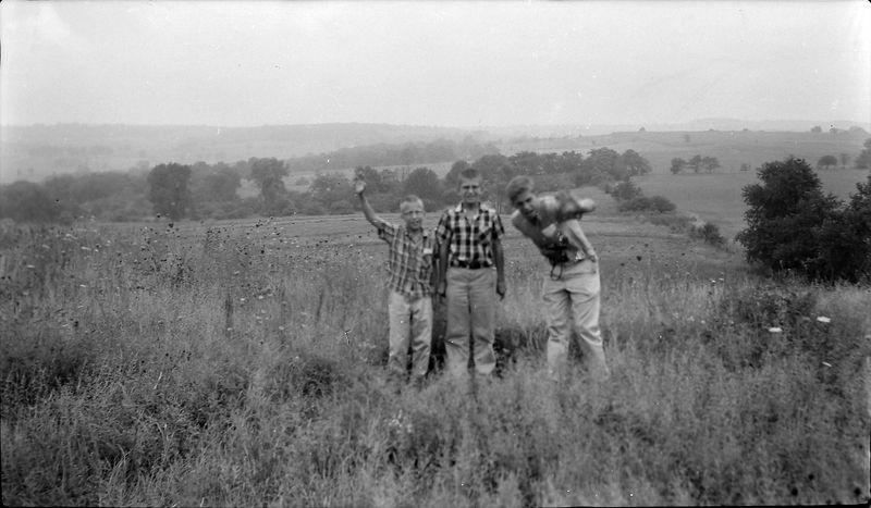 #71 Kenyon-Malcolm-Winnston Stebbins Charles Mound Ill 23 Aug'57
