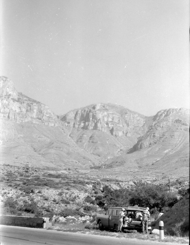 #233 Malcolm& Kenyon Stebbins El Capitan & Guadlaupe Peak TX 25 June'58