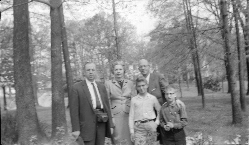 #42 Edwin &  Isabelle (Buckles) Robinson Rowland&Mal-Ken Stebins Durham NC 17 Apr'57