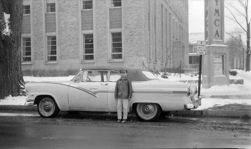 #147 Kenyon Stebbins & Last day of 56 Ford at YMCA Feb'58