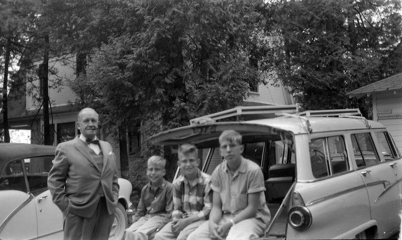 #170 Francis&Winston& Malcolm&Kenyon Stebbins Roaring Brook 10 May'58