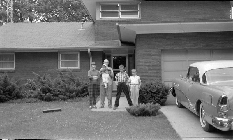 #184 Barbra-George-baby Susan-malcolm-Kenyon Stebbins Astabula OH 15June'58