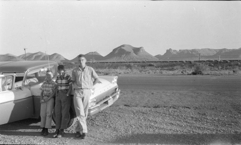 #228 Winston-Malcolm-Kenyon Stebbins Van Horn Texas 25 June'58